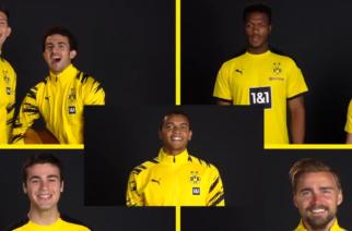Borussia Dortmund w oryginalnym stylu przywitała nowego zawodnika! [WIDEO]