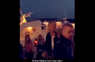 """Erling Haaland """"korzysta"""" z wakacji. Został wyrzucony z nocnego klubu [WIDEO]"""
