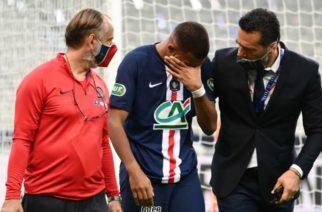 Kontuzja Kyliana Mbappe. Co z występem Francuza w Lidze Mistrzów?