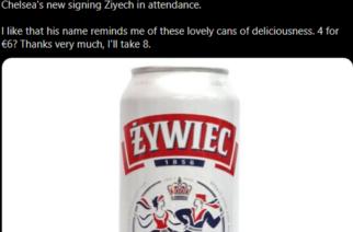 Ziyech przypomniał… Żywca. Zagraniczny bukmacher wspomina polskie piwo