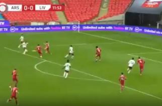 Piękny gol Aubameyanga otwiera mecz o Tarczę Wspólnoty! [WIDEO]