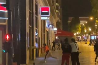 Wielkie zamieszki w Paryżu po porażce PSG! [WIDEO]