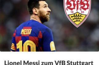 Kibice Stuttgartu zbierają pieniądze na… transfer Messiego!