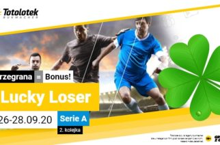 Lucky Loser Serie A w Totolotku!