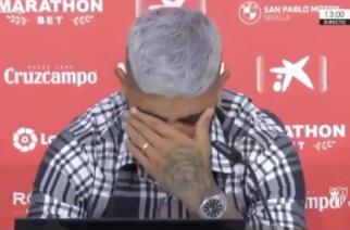 Ever Banega ze łzami w oczach żegna się z Sevillą! [WIDEO]