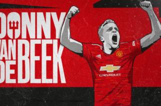 Donny van de Beek zawodnikiem Manchesteru United!