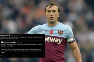 Kapitan West Hamu wściekły na zarząd. Piłkarz otwarcie skrytykował klub!