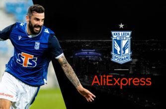 AliExpress sponsorem Lecha Poznań!