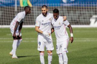 Karim Benzema przeprosił Viniciusa za słowa wypowiedziane w trakcie przerwy meczu?!