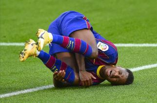 Ansu Fati przeszedł operację kolana. Dłuższa przerwa młodego piłkarza Barcelony!