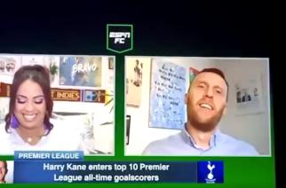 Dziennikarze ESPN wyśmiewali się z Harry'ego Kane'a! [WIDEO]