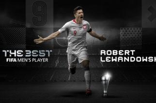 Robert Lewandowski otrzymał nagrodę FIFA The Best dla najlepszego piłkarza roku!