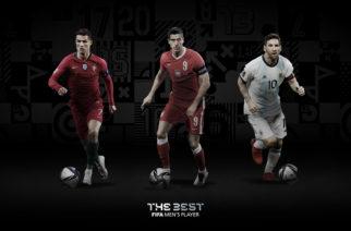 FIFA ogłosiła finałowe listy nominowanych do nagród The Best!