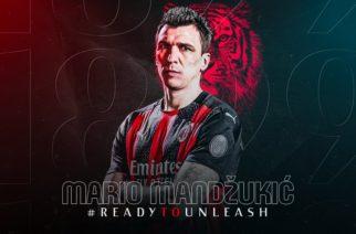 Mario Mandzukic został zawodnikiem Milanu!