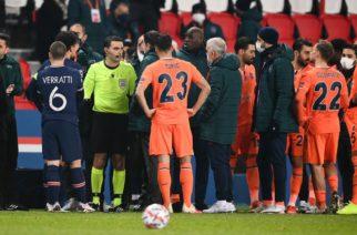 UEFA nie dopatrzyła się rasizmu w starciu PSG-Basaksehir!