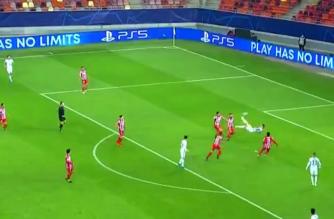 Olivier Giroud strzela gola z przewrotki w starciu z Atletico Madryt! [WIDEO]