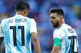 Angel Di Maria podgrzewa temat transferu Messiego: Jest na to duża szansa