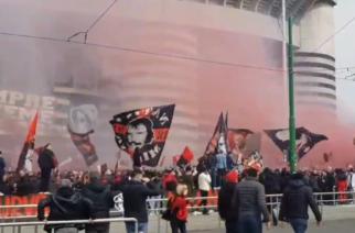 Niesamowita atmosfera przed derbami Mediolanu! [WIDEO]