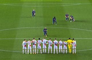 Wymowna scena tuż przed meczem Slavia Praga – Arsenal! [WIDEO]