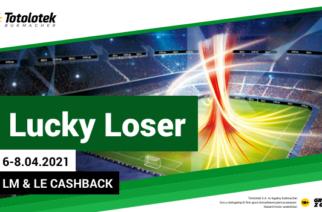 Lucky Loser w Totolotku na Europejskie Puchary!