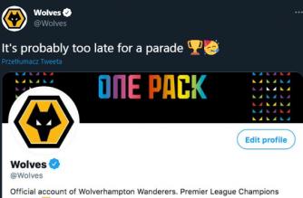Ekipa Wolverhampton ogłosiła się mistrzem Premier League. Nietypowy ruch klubu w mediach społecznościowych