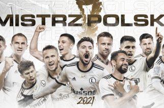 Legia mistrzem Polski sezonu 2020/2021!