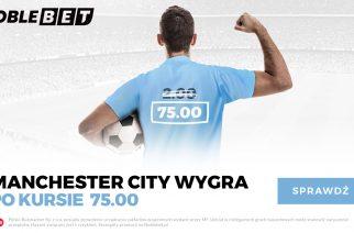 Kurs 75.00 na wygraną Manchesteru City w finale Ligi Mistrzów!