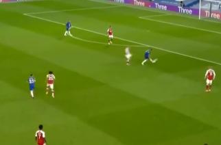 Kuriozalne zachowanie Jorginho. Arsenal prowadzi z Chelsea! [WIDEO]