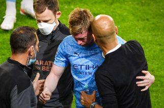 Kevin De Bruyne musiał zejść z boiska w finale Ligi Mistrzów z powodu urazu głowy