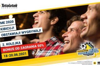 Bonus Bet and Collect 50% 25 PLN EURO 2020 w Totolotku