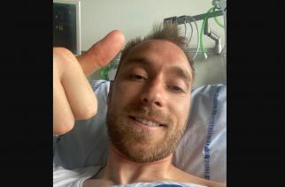 Christian Eriksen podziękował za wsparcie!