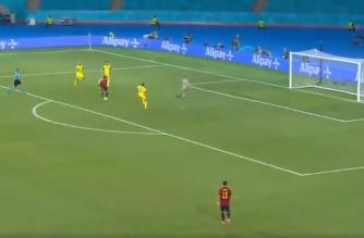 Alvaro Morata zmarnował świetną okazję w starciu ze Szwedami! [WIDEO]