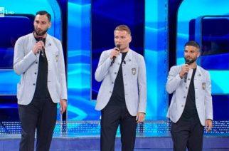 Włosi zawstydzili wszystkich. Ogłoszenia składu z rapowaniem i tańcem zawodników! [WIDEO]