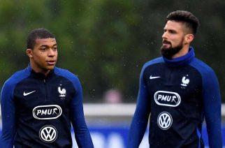 Zgrzyty we francuskiej kadrze. Mbappe niezadowolony z wypowiedzi Giroud!