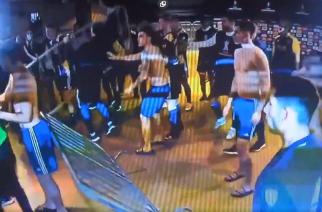 Piłkarze Boca Juniors wpadli w furię po przegranym meczu w Copa Libertadores! [WIDEO]