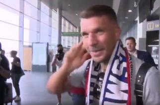 Dziennikarz TVN24 podekscytowany transferem Podolskiego: Może Górnik wygra Ligę Mistrzów? [WIDEO]