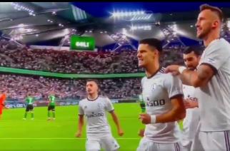 Legia wygrywa z Florą po golu w doliczonym czasie gry!