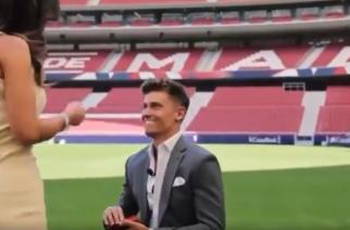 Marcos Llorente oświadczył się na Wanda Metropolitano! [WIDEO]