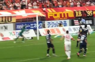 Jakub Świerczok strzelił debiutanckiego gola w J1 League. I to jakiego! [WIDEO]