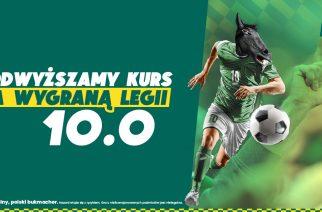 Kurs 10.00 na zwycięstwo mistrza Polski. Typy na Dinamo Zagrzeb – Legia