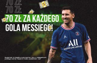 Kasa za gole Leo Messiego! Odbierz WIELKI BONUS za każdą bramkę gracza PSG