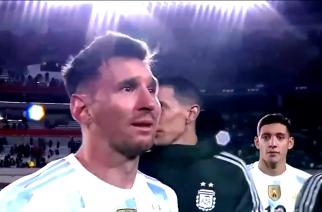 Wzruszony Leo Messi celebruje triumf w Copa America razem z kibicami! [WIDEO]