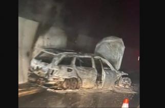 Skandal w Bośni i Hercegowinie. Kibice spalili samochód sędziego!