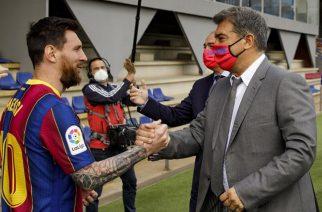 Joan Laporta miał nadzieję, że Leo Messi będzie grać za darmo