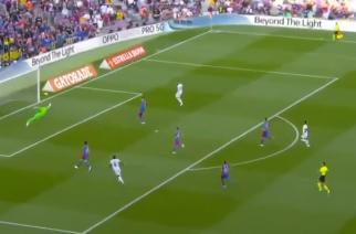 Real Madryt prowadzi do przerwy. Piękny gol Alaby! [WIDEO]