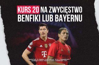 Kurs 20.00 na zwycięstwo Bayernu! Specjalna oferta bukmachera