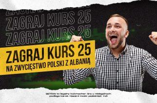 Pomyłka bukmachera?! Kurs 25.00 na wygraną Polski